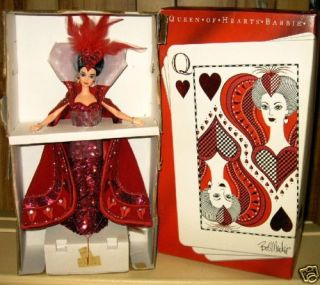 1994 Bob Mackie Queen of Hearts Barbie 074299120466