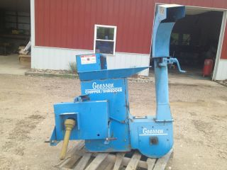 HEAVY DUTY GOOSEN PTO WOOD CHIPPER 3 POINT HITCH FROM OUR JOHN DEERE