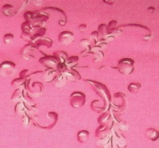 Dainty Pink on Pink Floral Japanese Flowers Tina Givens