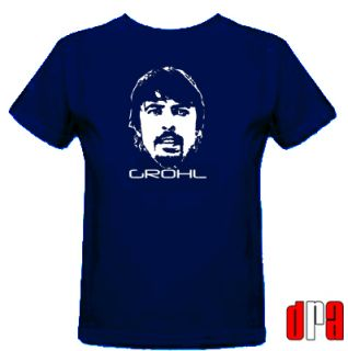 Dave Grohl Foo Fighters Nirvana Unofficial Tribute Cult Musician T
