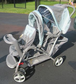 Graco Duoglider Double Baby Stroller