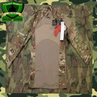 NWT USGI Military Multicam Army Flame Resistant Combat Shirt. Hunting