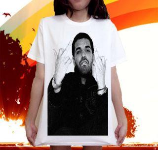 Aubrey Drake Graham Hip Hop Band Music Lil Wayne T Shirt Sz s M L XL
