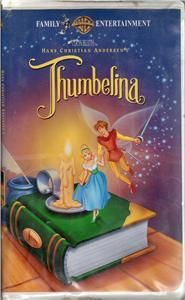 Hans Christian Andersens Thumbelina VHS Video