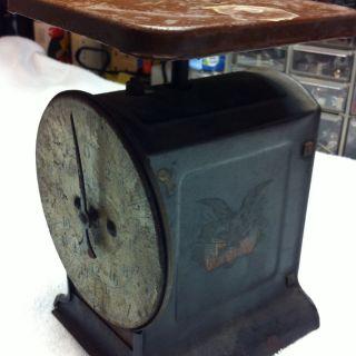 Antique Hanson Bros Scale 1908 24lbs Vintage Scale