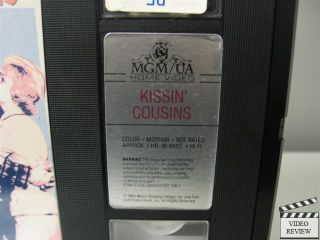 VHS Elvis Presley Arthur OConnell Glenda Farrell 027616148834