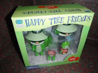 HAPPY TREE FRIENDS NEW IN BOX SHIFTY ACTION FIGURE TOY CUT UP