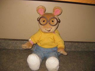 1998 20  Actimates Arthur Interactive Plush Talking Doll VGUC
