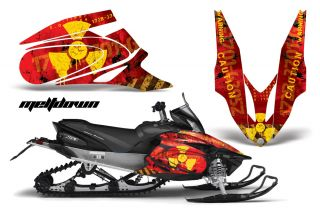 Yamaha Apex Graphic Sticker Kit AMR Racing Snowmobile Sled Wrap Decal