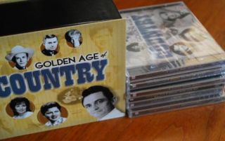 The Golden Age of Country Time Life CD 10 Discs Box Music