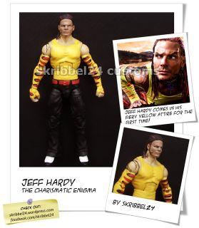 WWE Custom Jeff Hardy Mattel Elite Legends by SKRIBBEL24 TNA