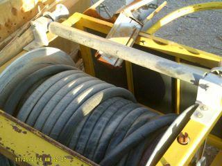 Hannay Truck Mount Fire Hose Reel 12 Volt DC Motor Mod EF 34 23 24 RT