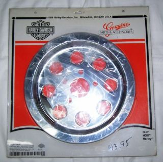 Harley Davidson Chrome Sprocket Cover