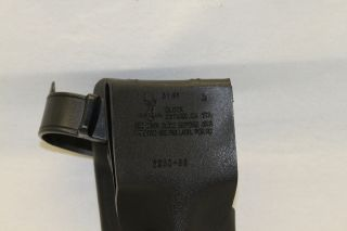 6280 83 Right Hand RH Duty Holster Glock 17/22 , Tactical Black, USED