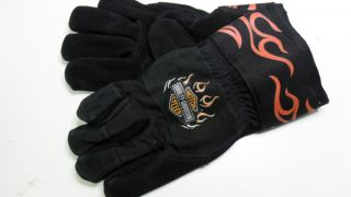 Harley Davidson Ladies Work Gloves Kevlar Leather