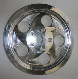 BOYDS HARLEY PARTS BILLET BELT DRIVE PULLEY IN PACKAGE POLISHED