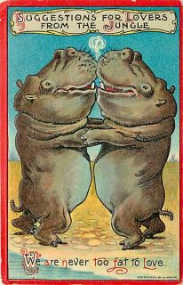 Suggestions for Lovers from The Jungle Never Too Fat to Love Hippos