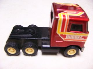 Vintage Buddy L Mini Mack Truck Semi Tractor Trailer