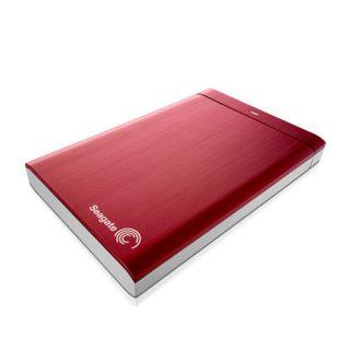 Backup Plus Portable Hard Disk Drive USB 3 0 HDD Red Fits Mac