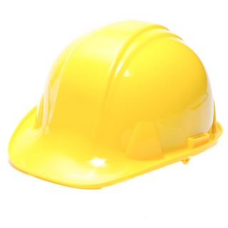 Safety Hard Hat with Ratchet Headgear Yellow