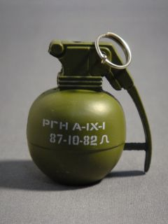 Army Green Color Hand Grenade Cigarette Lighter New
