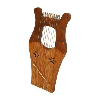 Mini Kinnor Harp Bonus Case King David Dupont Strings