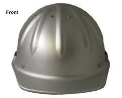 Style Hard Hats Metal Cap Style Silver Hardhats with Ratchet