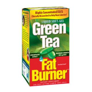 Green Tea Extract Weight Loss Pills EGCG Caffeine 200