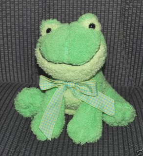 Stuffed Animal Plush Princess Soft Toys Green Frog Toy