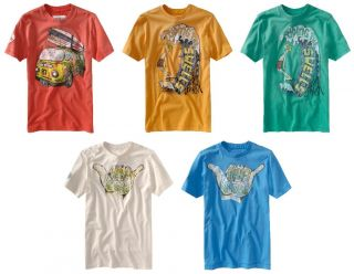 Aeropostale Mens Graphic Surf T Shirt
