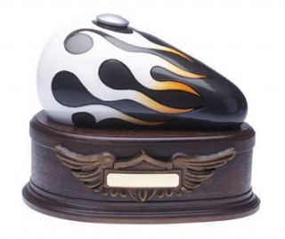 Harley Davidson Style Motorcycle Cremation Urn Sports