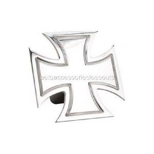 Maltese Iron Cross Hitch Cover Billet Harley Davidson 2 Reciver