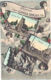 CA Grass Valley Town Views Central Mine Mining M18090