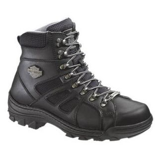 Harley Davidson Mens Broadmoor Zip Leather 6 Boot 94104