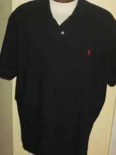 polo Ralph Lauren Black Polo Golf Shirt XXL★★