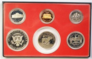 1979 Type 2 United States Proof Coin Set Complete OGP