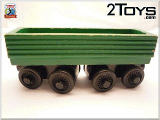 D199   Thomas Friends The Train Tank Wooden Engine RETIRED RARE HTF