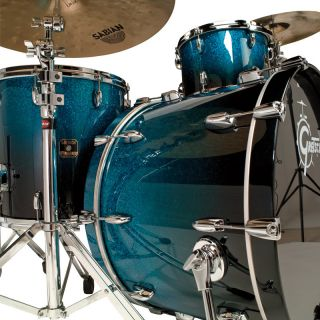 Gretsch Renown Maple 24 Bass Drum Cobalt Sparkle Fade 3 Piece Shell