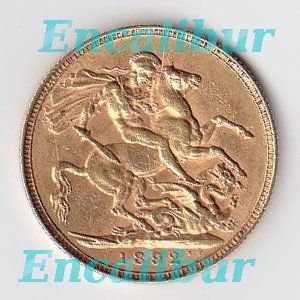 United Kingdom British Gold Full Sovereign 0 235 oz 7 32 G Gold