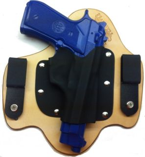 Beretta 92 IWB Concealment Hybrid Leather Kydex Holster Taurus