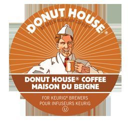 Single Keurig K Cups Donut House Collection Donut House® Coffee