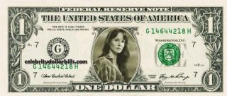 Walking Dead Lori Grimes Celebrity Dollar Bill Uncirculated Mint US