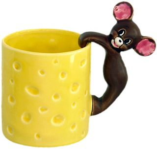 Metro Goldwyn Tom Jerry Jerry Ceramic Mug