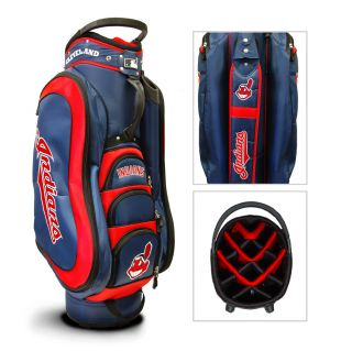 Team Golf Cleveland Indians Medalist Golf Cart Bag New in Box
