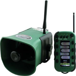 Edw Mini Remote Green Electronic Game Call w Predator 2 3 Sticks