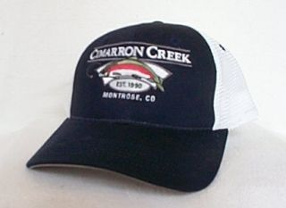 Cimarron Creek Colorado Fly Fishing Hat Cap Trucker