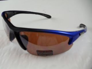 Maxx Sunglasses HD Cinco Blue Golf Polycarbon Lenses