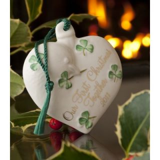 Belleek Holiday Our First Christmas 2011 Ornament