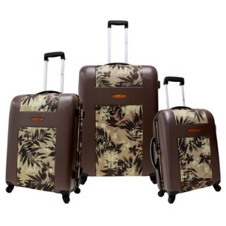 Travelers Choice Rome Hard Shell Spinner 2 Piece Luggage Set