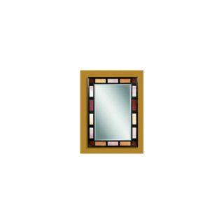 Bassett Mirror Antique Beaded Silver Leaner Mirror